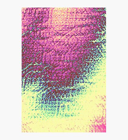 Faded Photographic Print