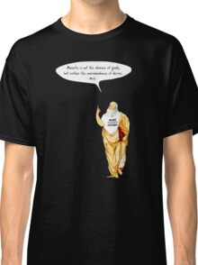 Plato is making poverty history Classic T-Shirt