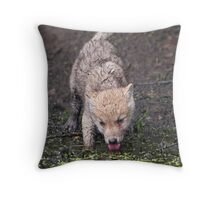 In the heat of the day Throw Pillow
