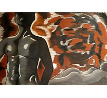 female and male nude Photographic Print