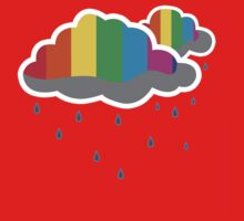 Rain Clouds One Piece - Short Sleeve