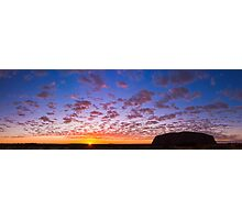 Uluru Sunrise, Part II Photographic Print