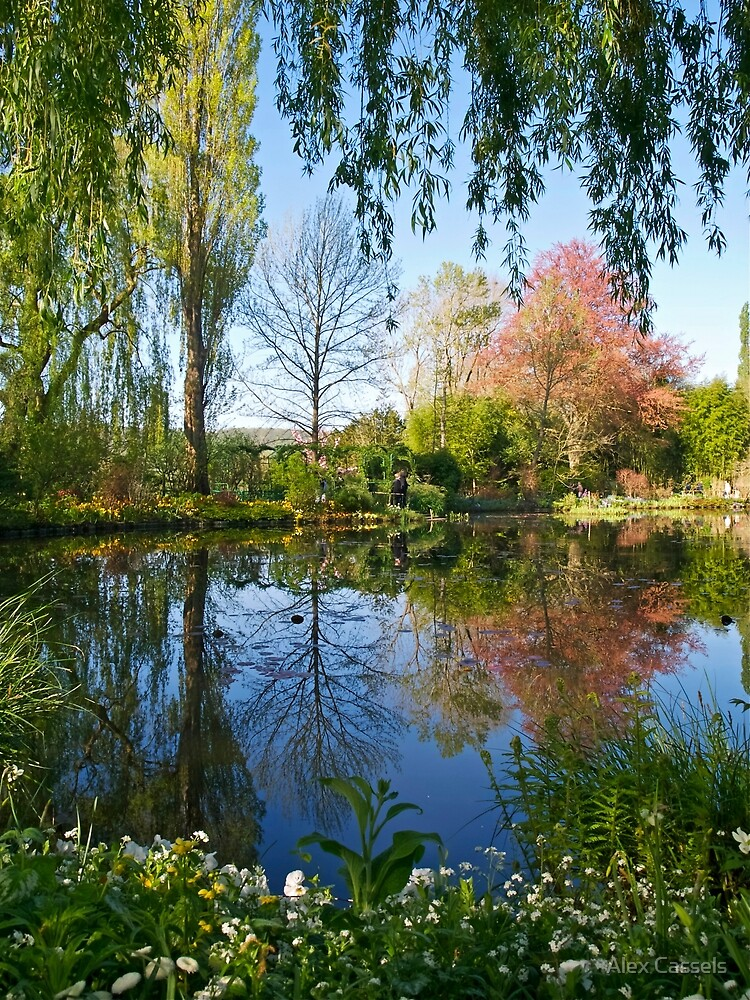 Springtime at Giverny by Alex Cassels