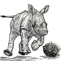 rhinosoccerous by uwanlibner