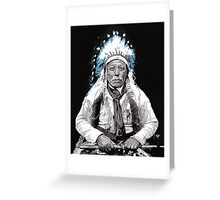 Native American Chief 3 Greeting Card