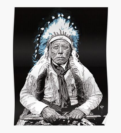 Native American Chief 3 Poster