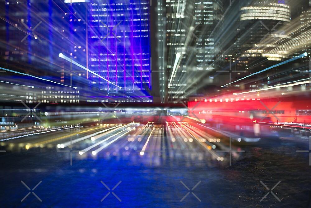 Vivid laser beams by Adriano Carrideo