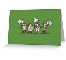 Zombie lives matter! Greeting Card