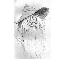 Wizard Photographic Print