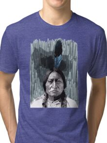 Sitting Bull Tri-blend T-Shirt