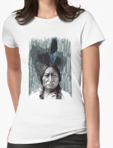 Sitting Bull Womens Fitted T-Shirt