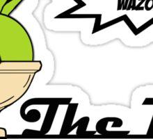 The Big Wazowski Sticker