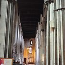 Cathedral aisle by blindluck