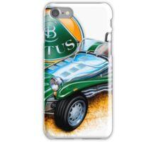Lotus Caterham Super 7 BRG iPhone Case/Skin
