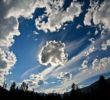 Banff Sky (landscape) by Elizabeth Faulkner LRPS