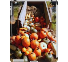 Autumn & Pumpkins (for a challenge) iPad Case/Skin