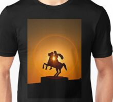 Alexandrer the Great in a circle of fire - Thessaloniki Unisex T-Shirt