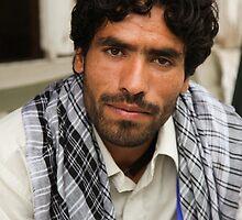 Afghan Community Health worker by David R. Anderson