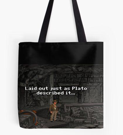 Just As Plato Described It Tote Bag