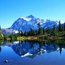 &quot;Mount Shuksan and Picture Lake in the Fall&quot; by Lynn Bawden