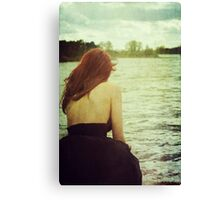 Lost in the lake Canvas Print