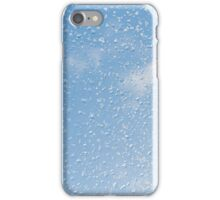 Melting snow drops blue sky iPhone Case/Skin