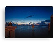 Sunset at SunSet Key/Key West Fl. Canvas Print