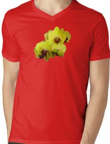 Group of Yellow Orchids Mens V-Neck T-Shirt