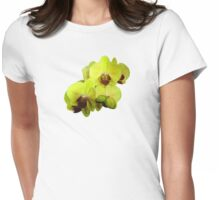 Group of Yellow Orchids Womens Fitted T-Shirt