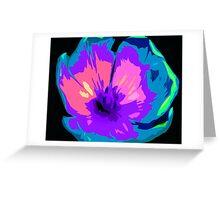 Multi-colour Pop Tulip #4 Greeting Card