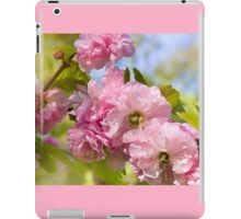 Almond blossoms pink flowering iPad Case/Skin