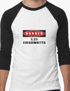 WARNING: 1.21 Jiggawatts! Men's Baseball ¾ T-Shirt
