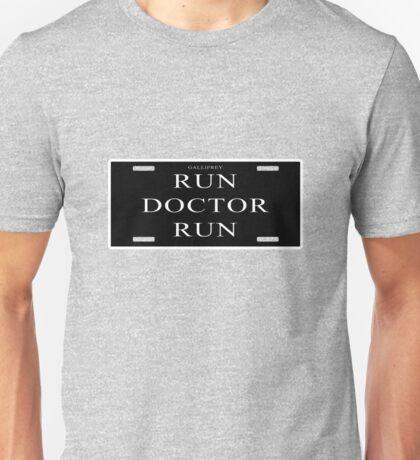 Run Doctor Run! Unisex T-Shirt