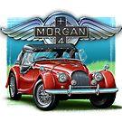 Morgan +4 Red by davidkyte