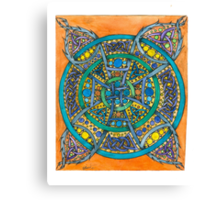 Cross of Time Canvas Print
