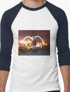 Grace Angel Men's Baseball ¾ T-Shirt