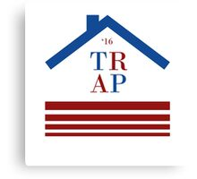 Trap 2016 election Canvas Print