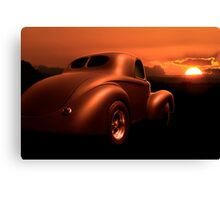 Basic Bob's Deuce Coupe Canvas Print