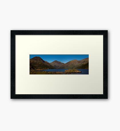 Wast Water Panoramic Framed Print