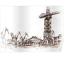 Gdansk Shipyard Poster