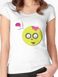 Zombie Thought Women's Fitted Scoop T-Shirt