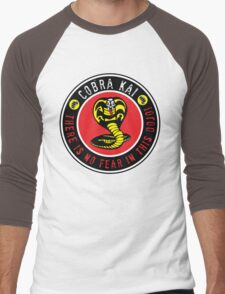 There is no fear in this dojo! Men's Baseball ¾ T-Shirt