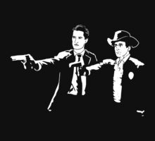 Dale & Henry Pulp Fiction Twin Peaks by Titius