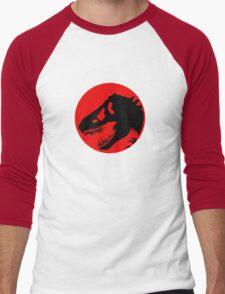 The Real Thunder Saurs Men's Baseball ¾ T-Shirt