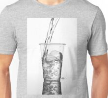 Fresh water pouring Unisex T-Shirt