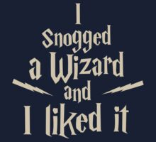 I Snogged a Wizard and I Liked It by studown