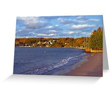Fall Colors- Door County Wisconsin Greeting Card