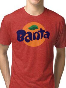 Banta Parody Joke Mens T-Shirt Banter Bantz Funny Fanta Wavey garms Lad unilad Tri-blend T-Shirt