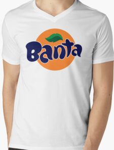 Banta Parody Joke Mens T-Shirt Banter Bantz Funny Fanta Wavey garms Lad unilad Mens V-Neck T-Shirt
