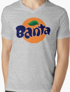Banta Parody Joke Mens T-Shirt Banter Bantz Funny Fanta Wavey garms Lad unilad Mens V-Neck T-Shirt